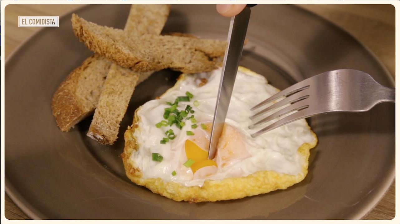 Cocina para lerdos: el huevo frito perfecto