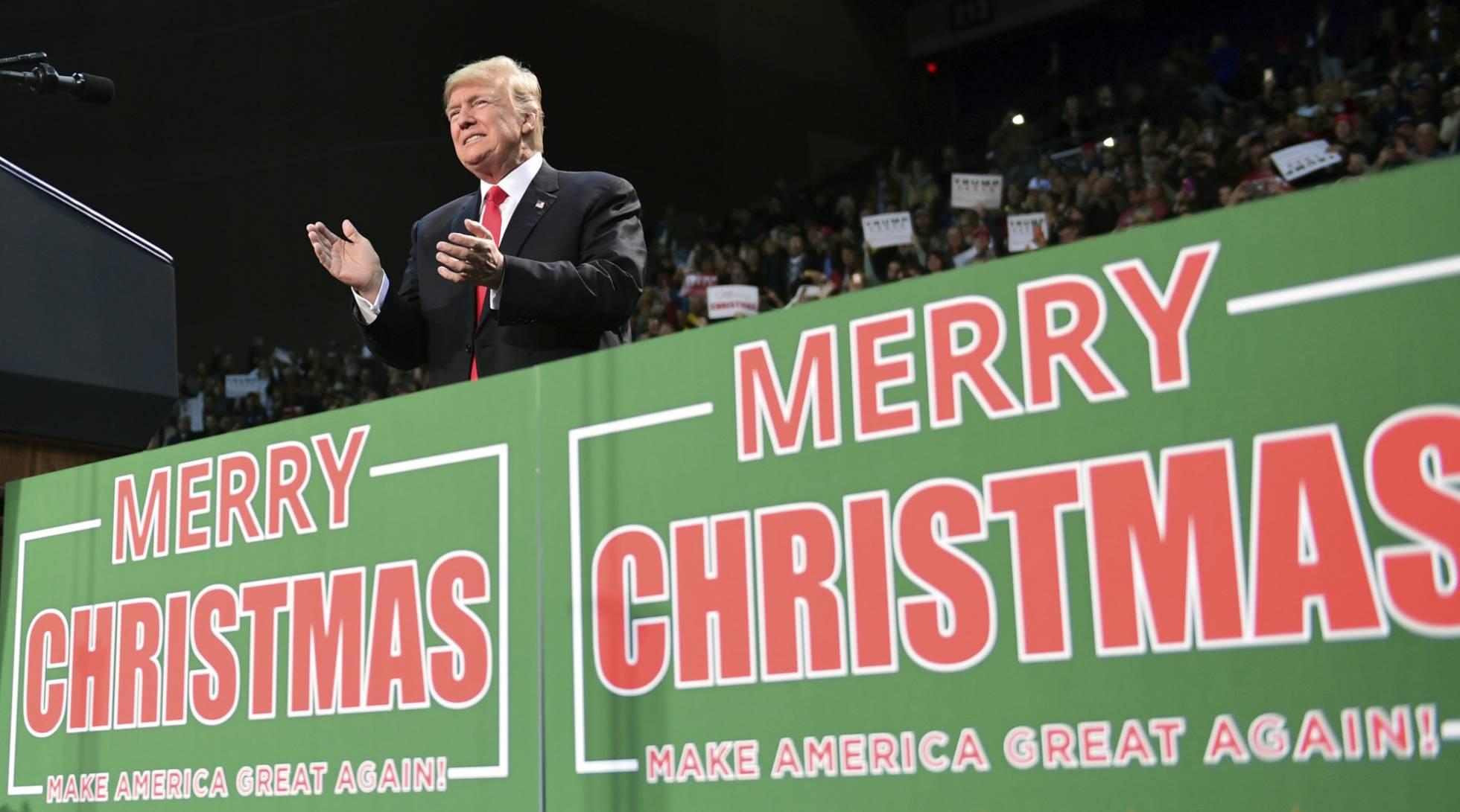 Decir Feliz Navidad En Vasco.Feliz Navidad O Felices Fiestas Trump Abre El Debate Blog