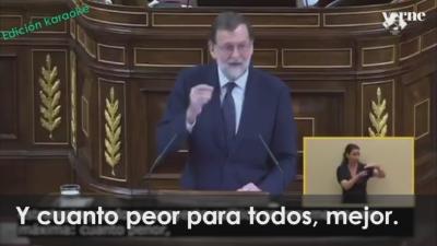 Vídeo Mariano Rajoy Tiene Nuevo Trabalenguas Cuanto Peor