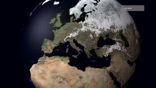 Migração de animais mostra um planeta sem fronteiras