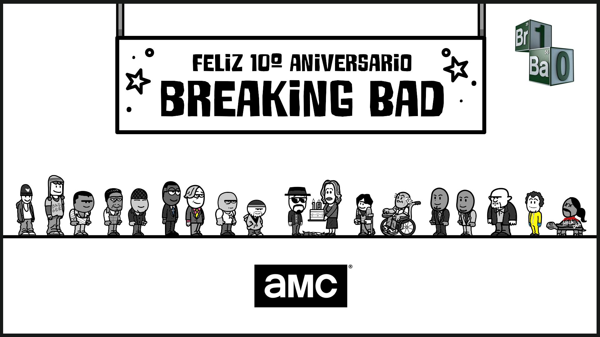 Todo 'Breaking Bad' en un minuto animado para celebrar sus diez años