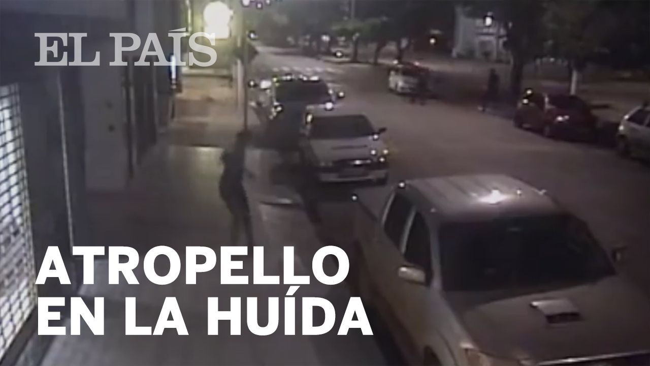 Crime: Security camera captures Brazilian thief run over by own ...