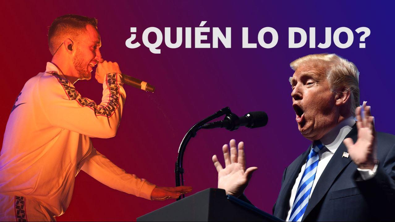 Quién Lo Dijo Ctangana O Donald Trump Tentaciones El País