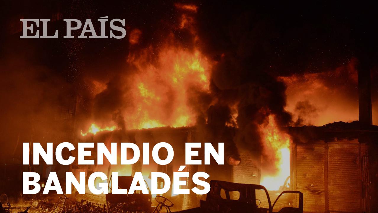 c992b9c699d5c Al menos 78 muertos en un gran incendio en la capital de Bangladés ...