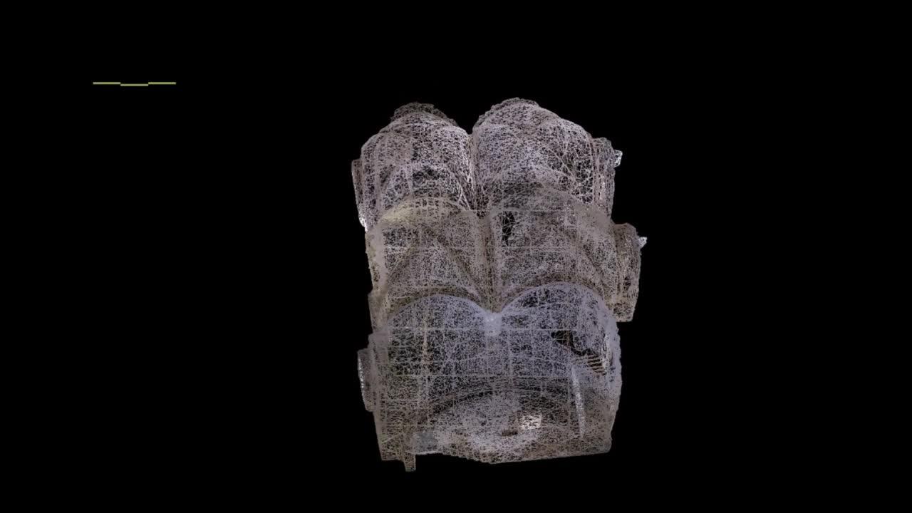 El Cenáculo  de Jerusalén,  recreado en 3D 2