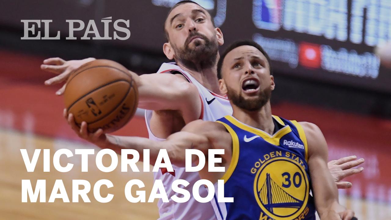 4bd0e60a1 Playoffs NBA: Marc Gasol y los Raptors dan el primer toque de atención a  los Warriors | Deportes | EL PAÍS