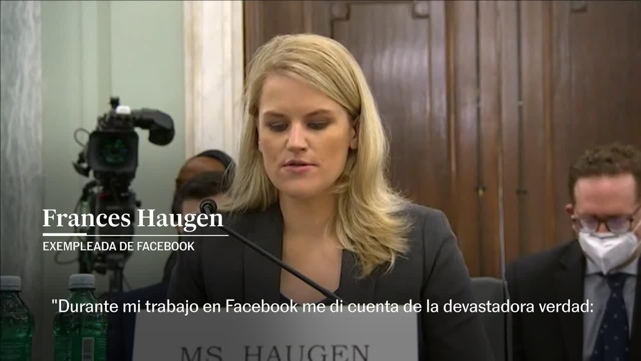 La 'garganta profunda' de Facebook exige una legislación que ponga coto a  la red social | Tecnología | EL PAÍS